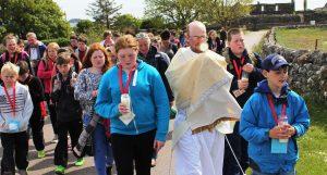 procession Iona youth pilgrimage