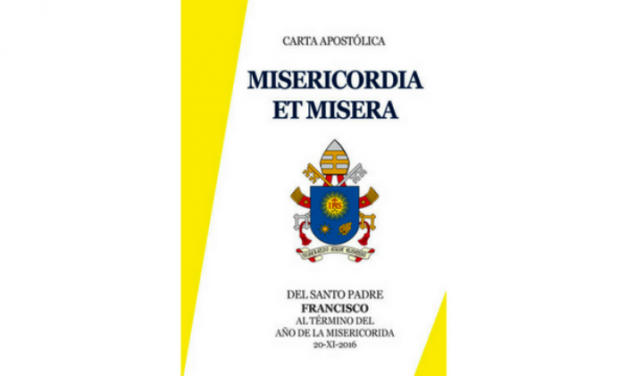 Pope Francis' Apostolic Letter 'Misericordia et Misera'