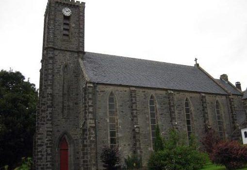 Arisaig, St. Mary's Church.
