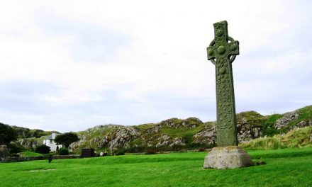 St. Martin's Cross, Isle of Iona