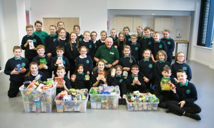 Fort William pupils help to feed people in need