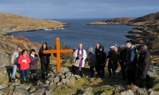 Eriskay's Outdoor Stations of the Cross