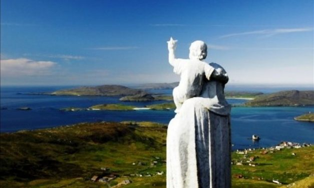 Bishop Brian comforts families of Barra teenagers