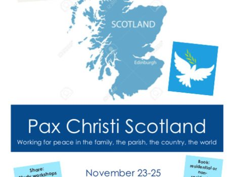 Pax Christi Scotland invitation for dissemination