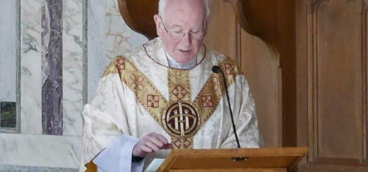 Funeral Arrangements for Canon John Angus MacDonald