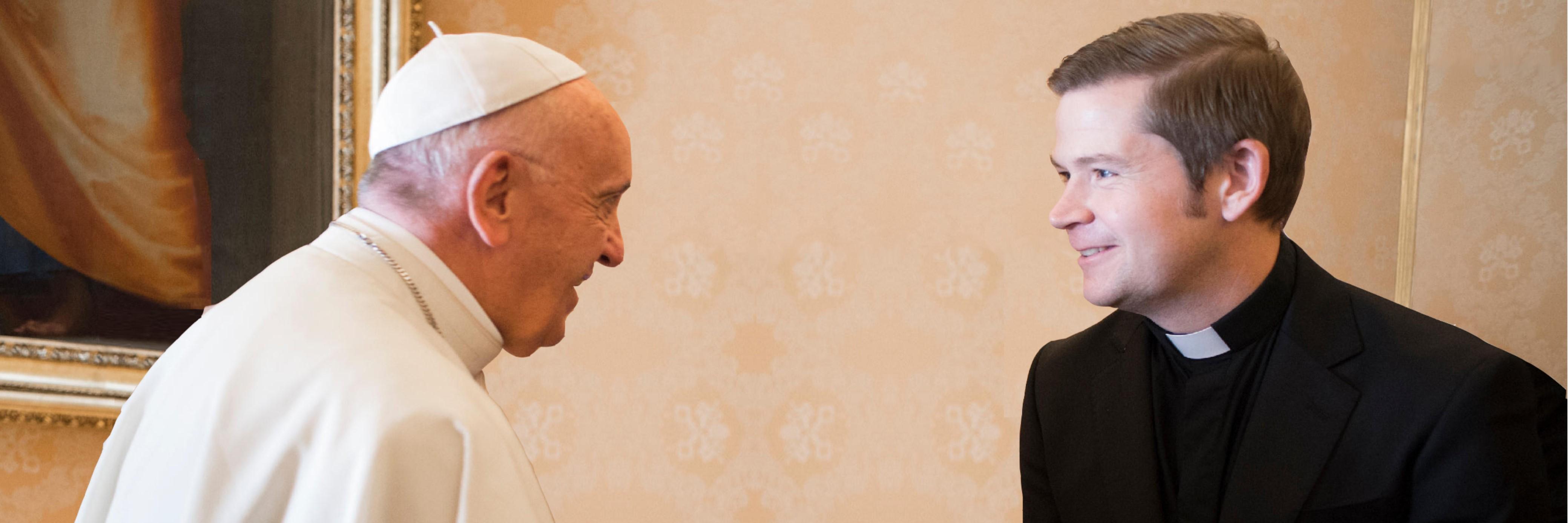 Rev. Ronald meets Pope Francis