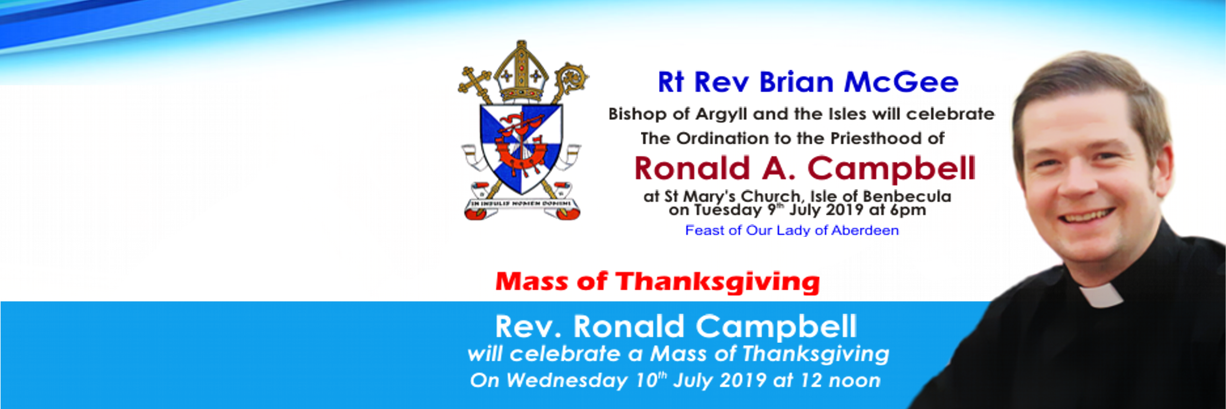 Rev. Ronald Ordination