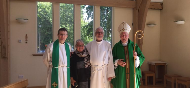 Homily for the Institution of the Ministries of Reader and Acolyte for Tony Livesy